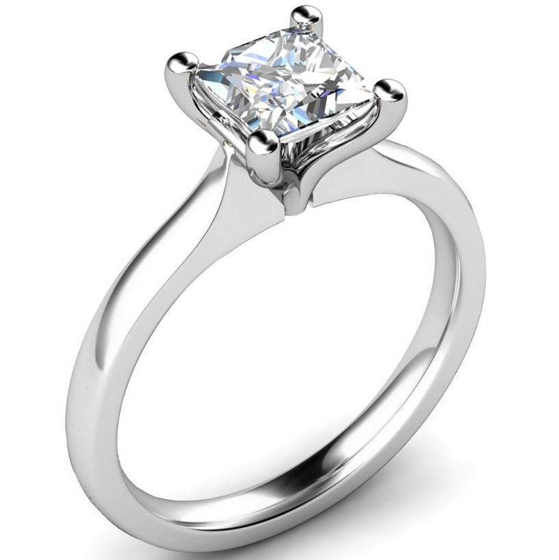 Princess-Cut-Tulip-Diamond-Engagement-Ring-PC123