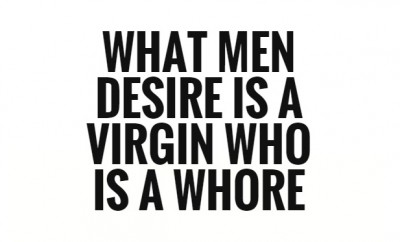 Virginity does not judge your character.