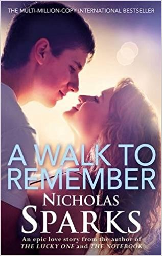 A Walk To Remember. book